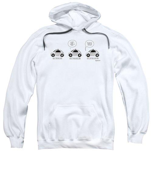 Three Google Cars Sweatshirt