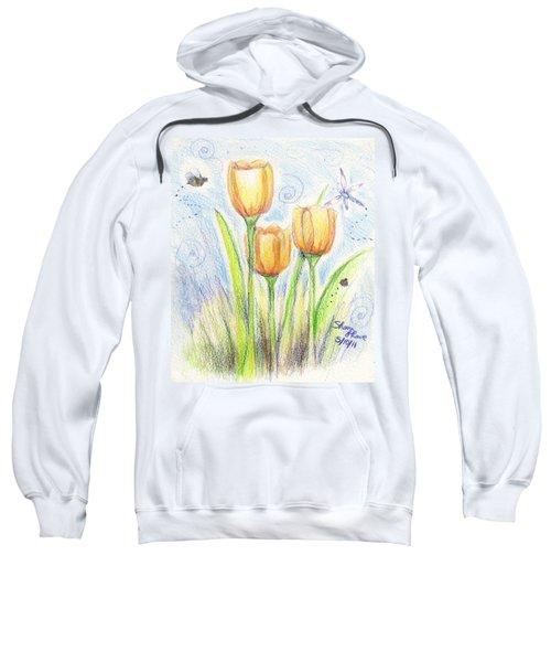 Three Little Tulips Sweatshirt
