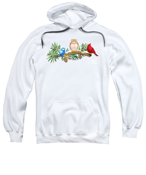 Three Watchful Friends Sweatshirt