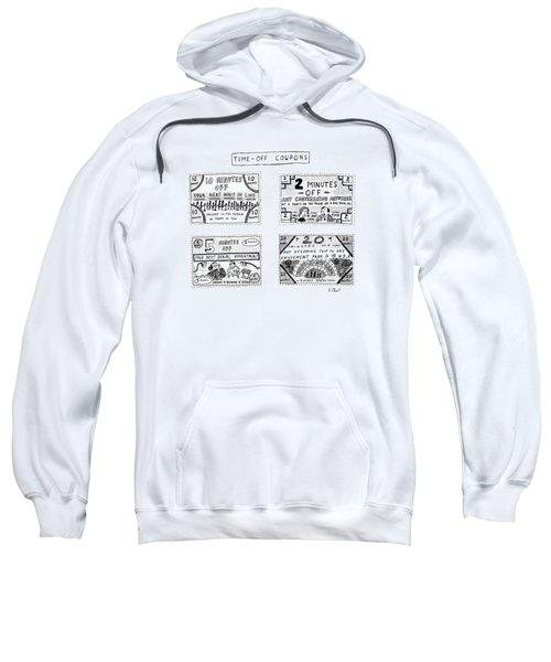 Time-off Coupons Sweatshirt