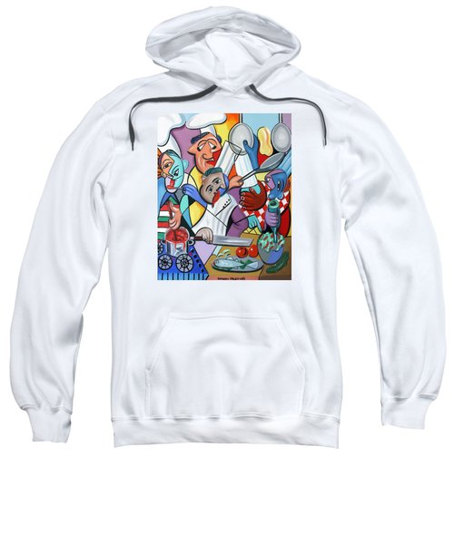 To Many Cooks In The Kitchen Sweatshirt