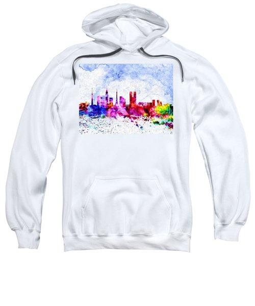 Tokyo Watercolor Sweatshirt