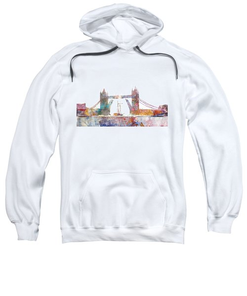 Tower Bridge Colorsplash Sweatshirt