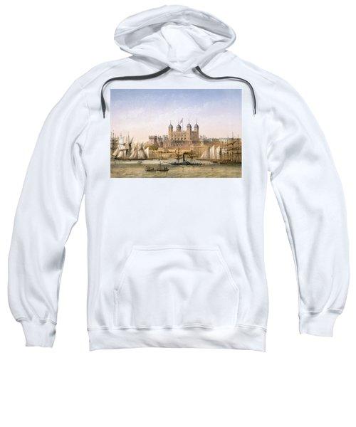 Tower Of London, 1862 Sweatshirt