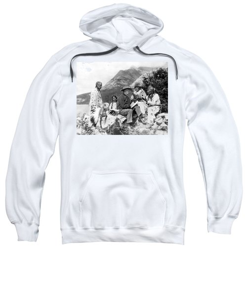 Translating Native Legends Sweatshirt