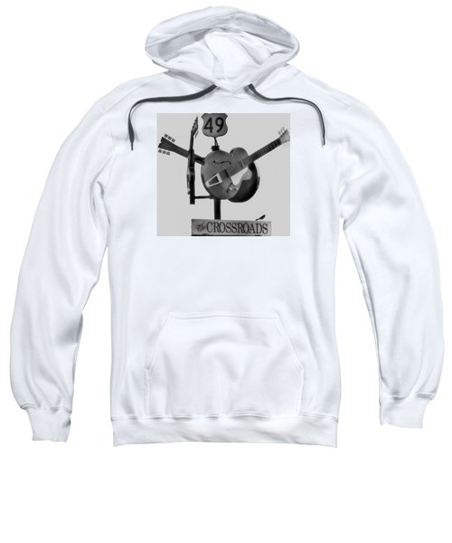 Tribute To The Blues At The Crossroads Sweatshirt by Dan Sproul