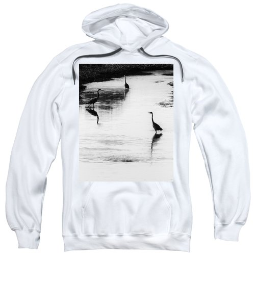 Trilogy - Black And White Sweatshirt