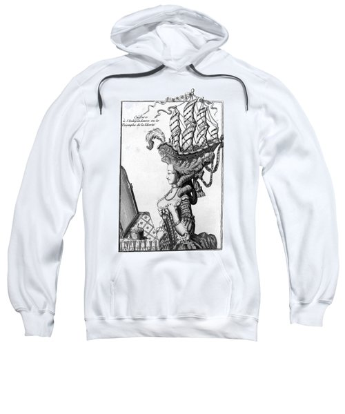 Triumph Of Liberty. C1781 Sweatshirt