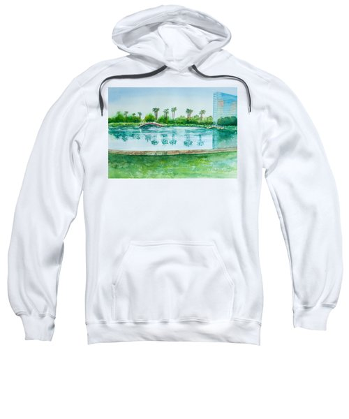 Two Bridges At Rainbow Lagoon Sweatshirt