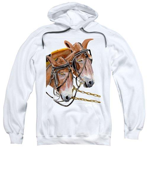 Two Mules - Enhanced Color - Farmer's Friend Sweatshirt