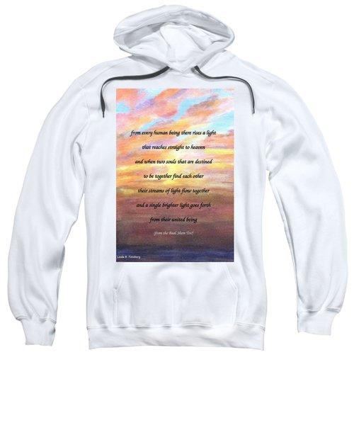 Two Souls Destined To Be Together Sweatshirt