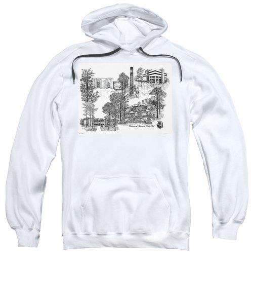 University Of Arkansas Sweatshirt by Liz  Bryant