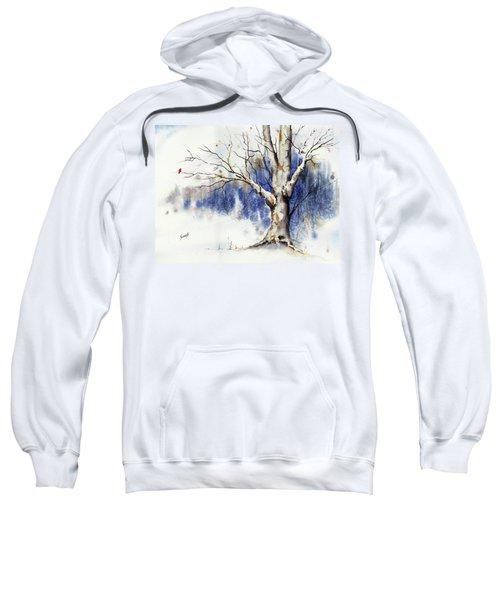 Untitled Winter Tree Sweatshirt