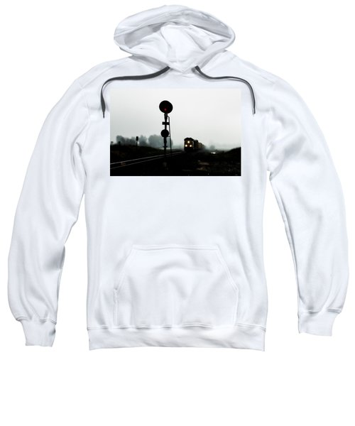 Sweatshirt featuring the photograph Up 8057 by Jim Thompson
