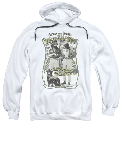 Up In Smoke - Labrador Sweatshirt