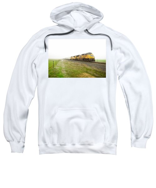 Sweatshirt featuring the photograph Up8420 by Jim Thompson