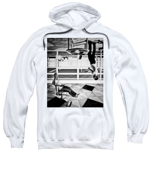 Upside Down Conversation Sweatshirt
