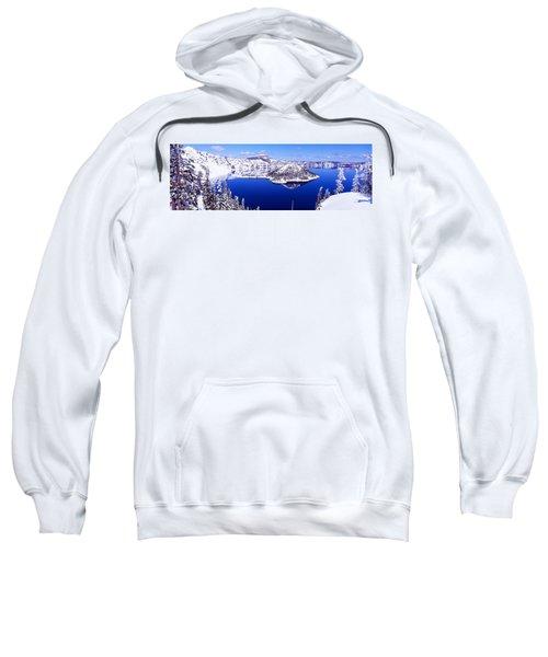 Usa, Oregon, Crater Lake National Park Sweatshirt