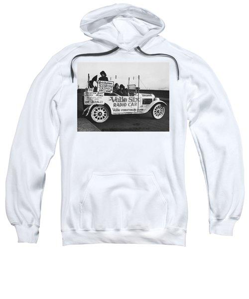 Velie Six Radio Car Sweatshirt