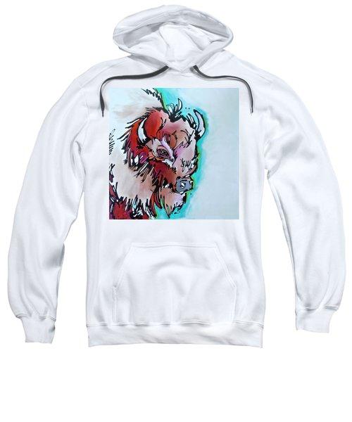 Velvet Stud Sweatshirt