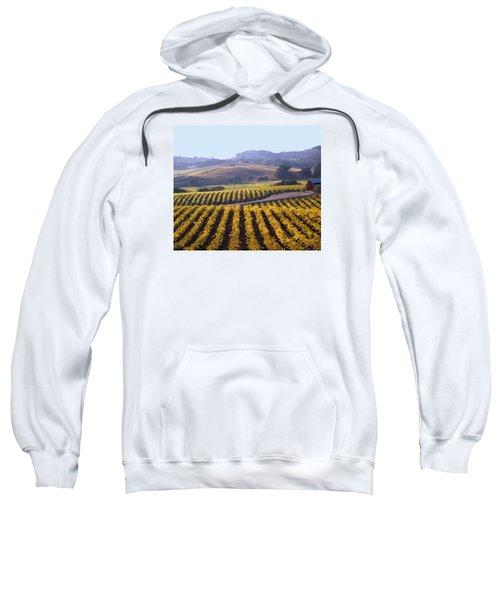 6b6386-vineyard In Autumn Sweatshirt