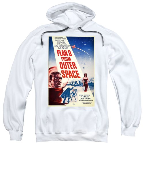 Vintage Movie Poster - Plan 9 From Outer Space Sweatshirt