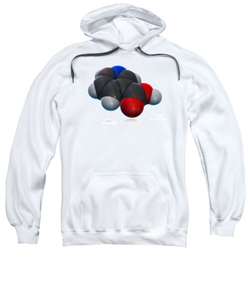 Vitamin B3, Molecular Model Sweatshirt