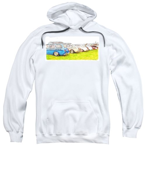 Vw Squareback Art Sweatshirt