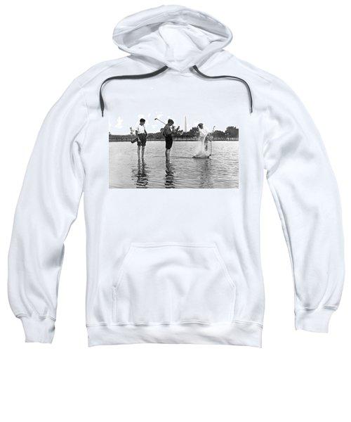 Water Hazard On Golf Course Sweatshirt