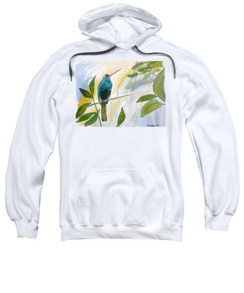 Watercolor - Jacamar In The Rainforest Sweatshirt