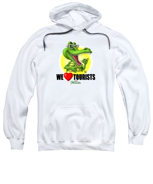 We Love Tourists Gator Sweatshirt