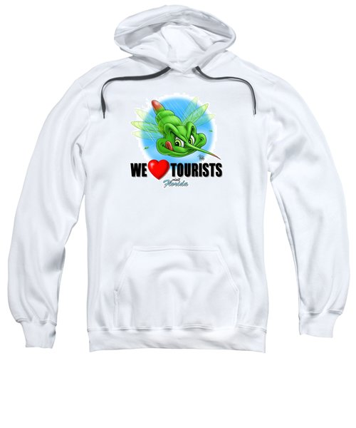 We Love Tourists Mosquito Sweatshirt