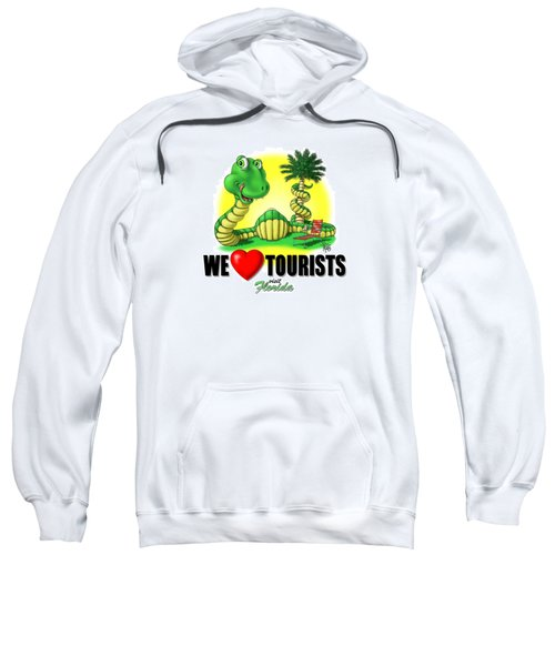 We Love Tourists Snake Sweatshirt