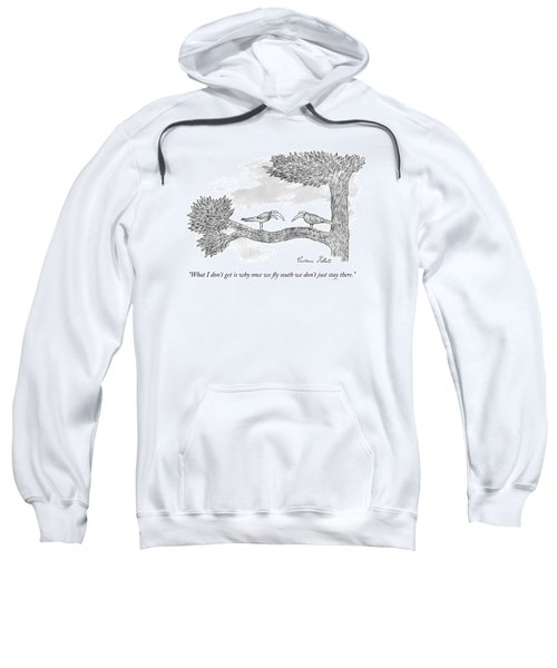 Once We Fly South Sweatshirt