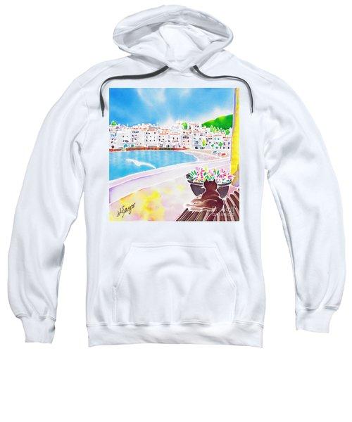 White And Blue 2 Sweatshirt