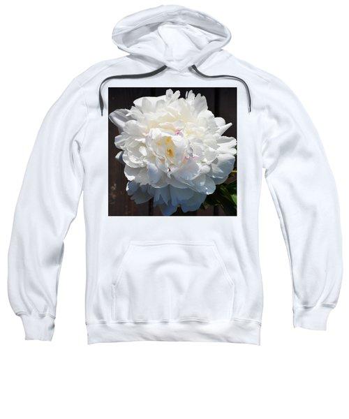 White Peony Sweatshirt