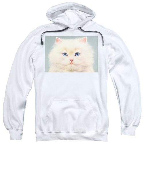White Persian Sweatshirt