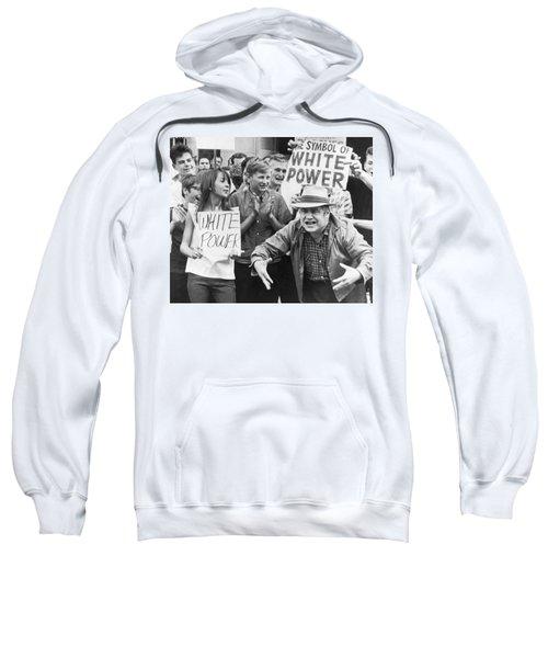 White Power Demonstrators Sweatshirt