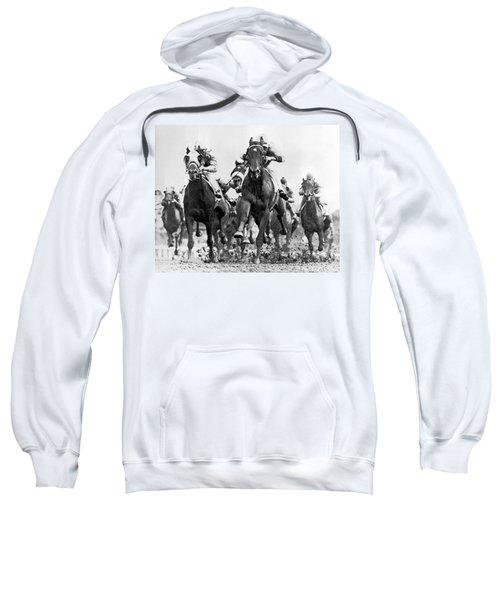 White River With Jockey Tommy Barrow Sweatshirt