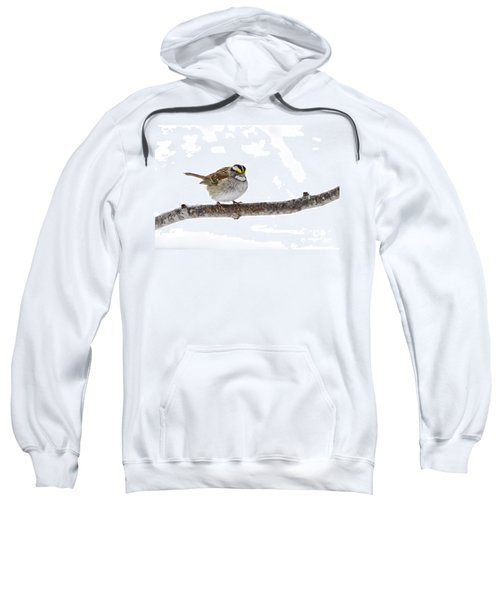 White-throated Sparrow Sweatshirt