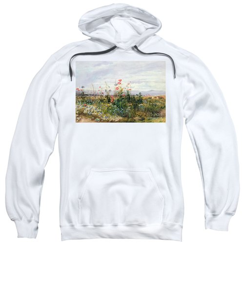 Wildflowers With A View Of Dublin Dunleary Sweatshirt