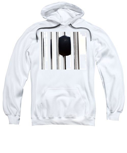 Wind Chime In Black And White Sweatshirt