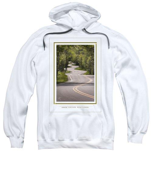 Winding Road Door County Sweatshirt