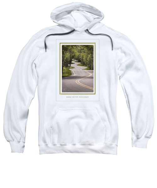 Winding Road Door County Sweatshirt