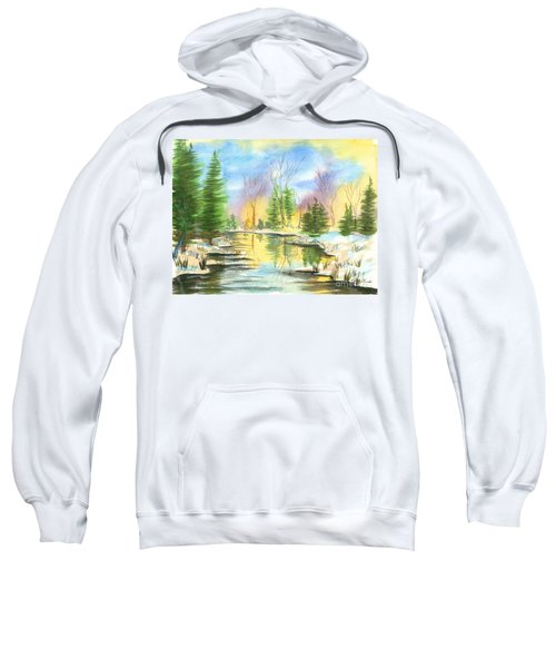 Winter Stillness Sweatshirt