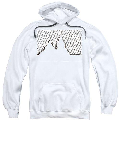Winter Trees 2 - Aceo Sweatshirt