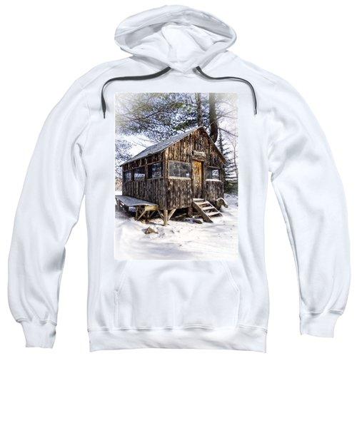 Winter Warming Hut Sweatshirt