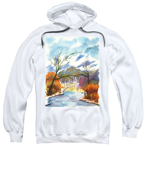 Wintry Reflections Sweatshirt