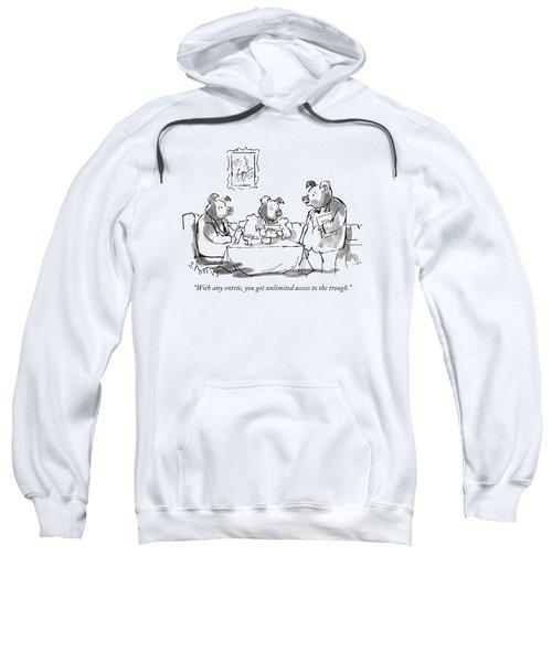 With Any Entree Sweatshirt