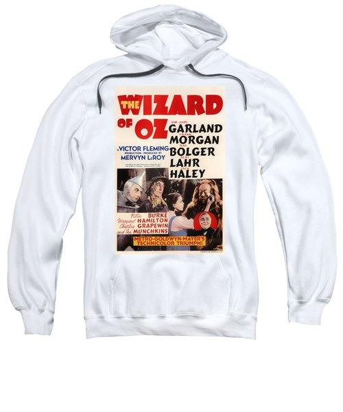 Wizard Of Oz Vintage Movie Poster Sweatshirt